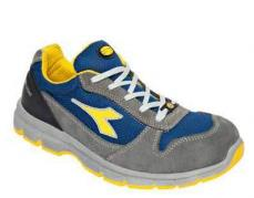 Calzado de seguridad DIADORA UTILITY Mod.  RUN II TEXT ESD LOW S1P SRC ESD   CASTLE ROCK/INSIGNIA BLUE