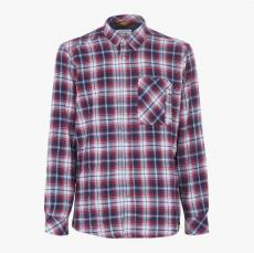 Camisa de franela DIADORA UTILITY Mod.  SHIRT CHECK   BLU CORSAIR/STAR WHITE/RED