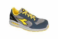 Calzado de seguridad DIADORA UTILITY Mod.  RUN NET AIRBOX LOW S1P SRC   BLUE COSMOS/MOON ROCK GRAY